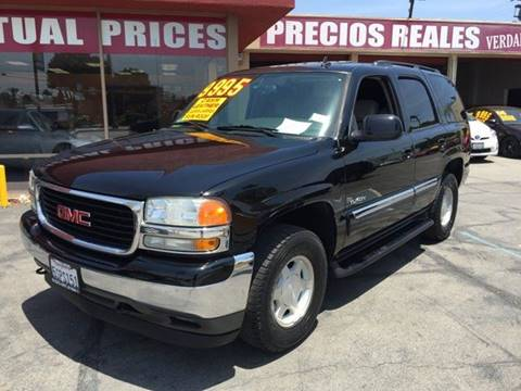 2006 GMC Yukon for sale at Sanmiguel Motors in South Gate CA