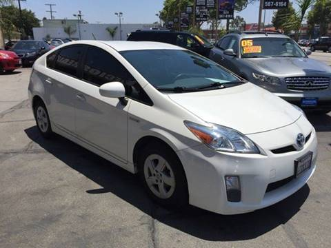 2011 Toyota Prius for sale at Sanmiguel Motors in South Gate CA