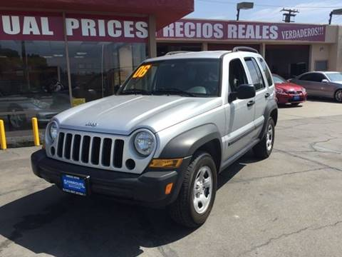 2006 Jeep Liberty for sale at Sanmiguel Motors in South Gate CA