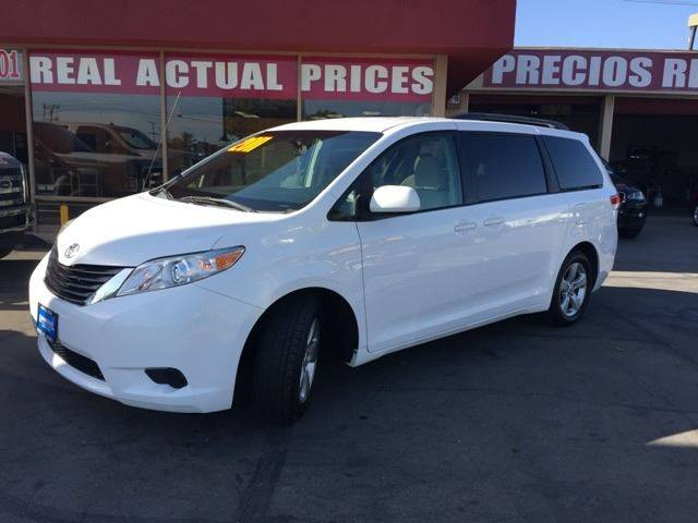 2011 Toyota Sienna for sale at Sanmiguel Motors in South Gate CA