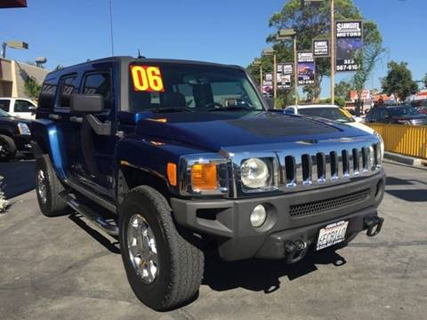 2006 HUMMER H3 for sale at Sanmiguel Motors in South Gate CA