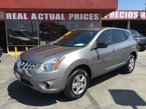 2013 Nissan Rogue for sale at Sanmiguel Motors in South Gate CA
