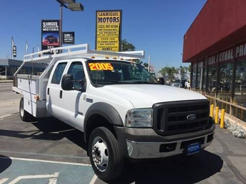 2005 Ford F-550 for sale at Sanmiguel Motors in South Gate CA