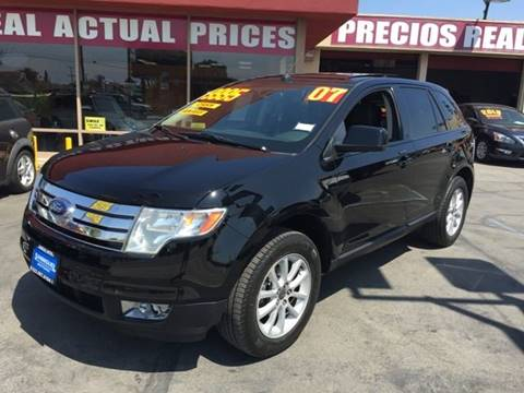 2007 Ford Edge for sale at Sanmiguel Motors in South Gate CA