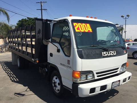 2004 Isuzu NPR for sale at Sanmiguel Motors in South Gate CA