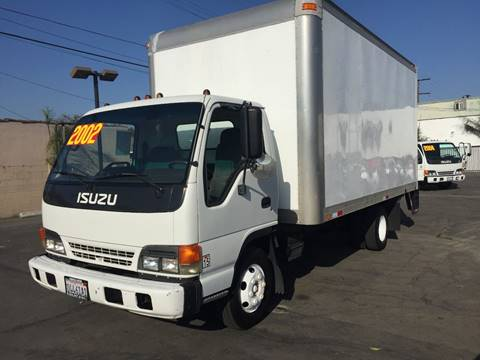 2002 Isuzu NPR for sale at Sanmiguel Motors in South Gate CA