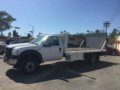 2006 Ford F-550 for sale at Sanmiguel Motors in South Gate CA