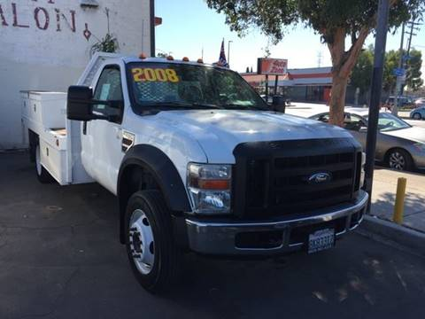 2008 Ford F-450 Super Duty for sale at Sanmiguel Motors in South Gate CA