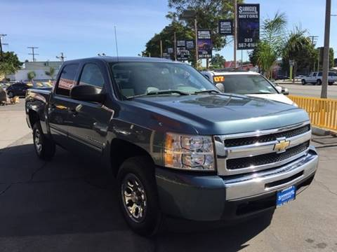 2009 Chevrolet Silverado 1500 for sale at Sanmiguel Motors in South Gate CA