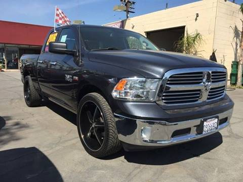 2016 RAM Ram Pickup 1500 for sale at Sanmiguel Motors in South Gate CA