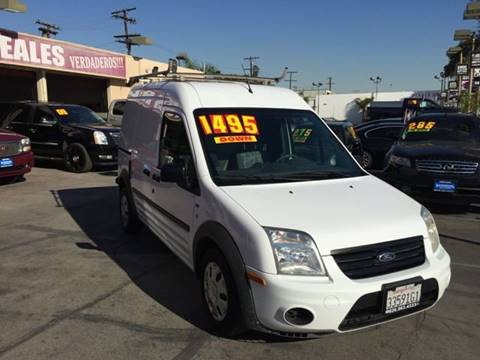 2012 Ford Transit Connect for sale at Sanmiguel Motors in South Gate CA