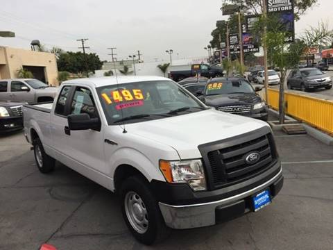 2010 Ford F-150 for sale at Sanmiguel Motors in South Gate CA