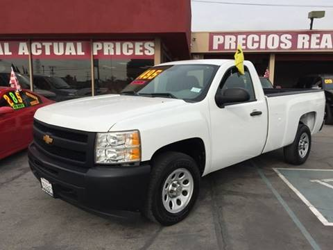 2012 Chevrolet Silverado 1500 for sale at Sanmiguel Motors in South Gate CA
