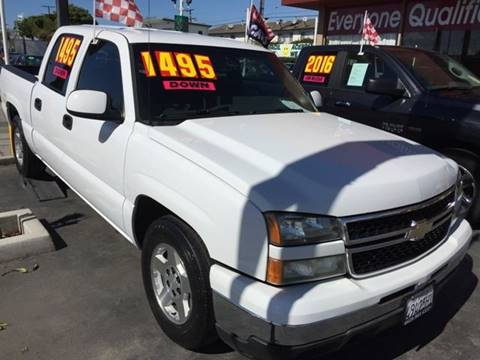 2007 Chevrolet Silverado 1500 Classic for sale at Sanmiguel Motors in South Gate CA