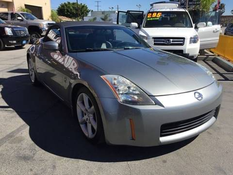 2004 Nissan 350Z for sale at Sanmiguel Motors in South Gate CA
