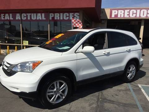 2010 Honda CR-V for sale at Sanmiguel Motors in South Gate CA
