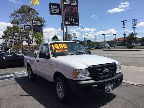 2011 Ford Ranger for sale at Sanmiguel Motors in South Gate CA