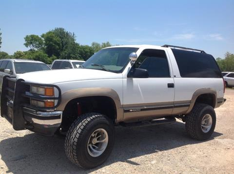 1997 Chevrolet Tahoe For Sale Carsforsale Com