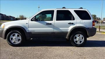 2002 Ford Escape for sale in Houston, TX