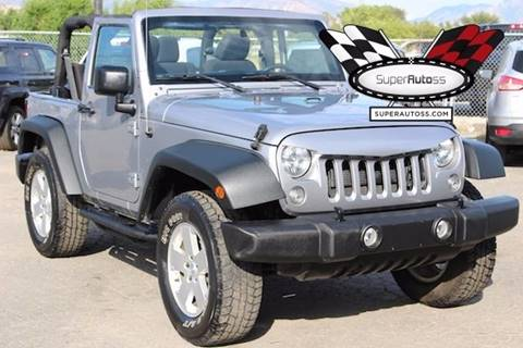 2015 Jeep Wrangler for sale in Salt Lake City, UT