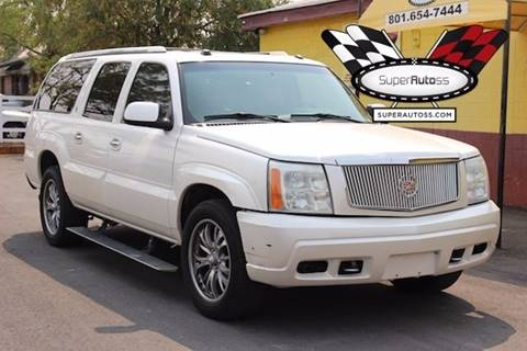 2004 Cadillac Escalade ESV for sale in Salt Lake City, UT