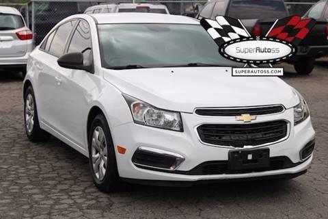 2015 Chevrolet Cruze for sale in Salt Lake City, UT
