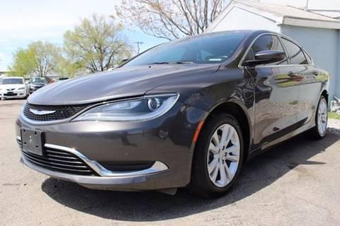 2015 Chrysler 200 for sale in Salt Lake City, UT