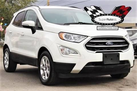 2019 Ford EcoSport for sale in Salt Lake City, UT