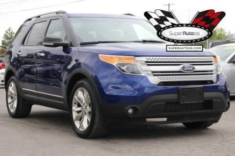 2014 Ford Explorer XLT for sale at Super Autoss in Salt Lake City UT