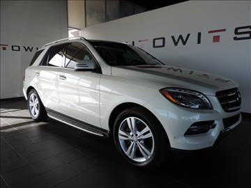 2013 Mercedes-Benz M-Class for sale at AutoWits in Scottsdale AZ