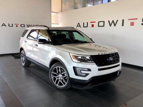 2016 Ford Explorer for sale at AutoWits in Scottsdale AZ