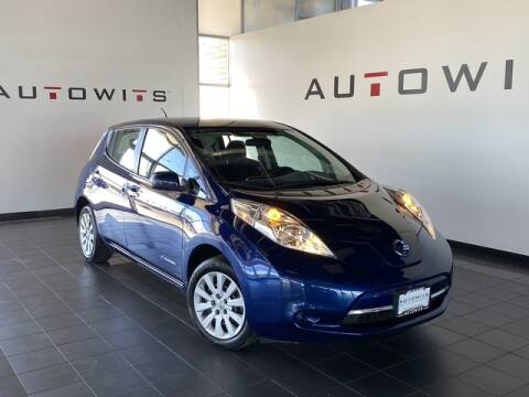 2017 Nissan LEAF for sale at AutoWits in Scottsdale AZ