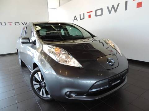 2016 Nissan LEAF for sale at AutoWits in Scottsdale AZ