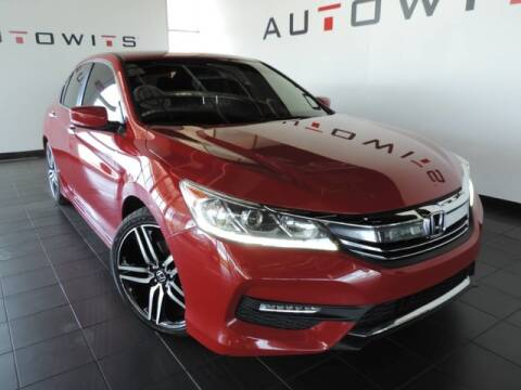2017 Honda Accord for sale at AutoWits in Scottsdale AZ
