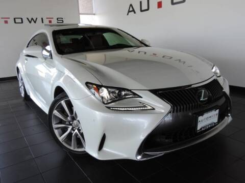 2015 Lexus RC 350 for sale at AutoWits in Scottsdale AZ