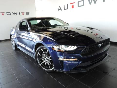 2018 Ford Mustang for sale at AutoWits in Scottsdale AZ