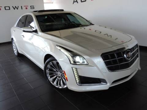2014 Cadillac CTS for sale at AutoWits in Scottsdale AZ