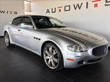 2008 Maserati Quattroporte for sale in Scottsdale, AZ