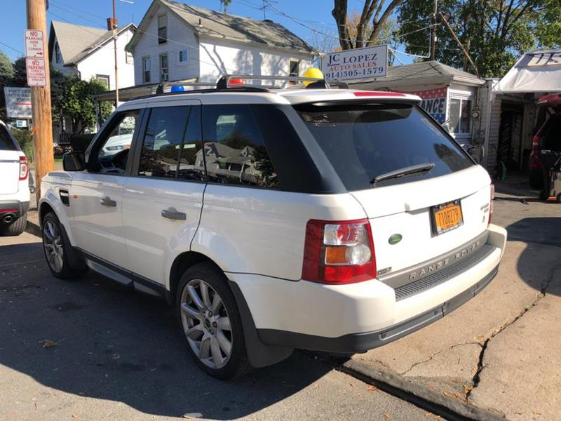 2008 Land Rover Range Rover Sport HSE In Port Chester NY - J C Lopez