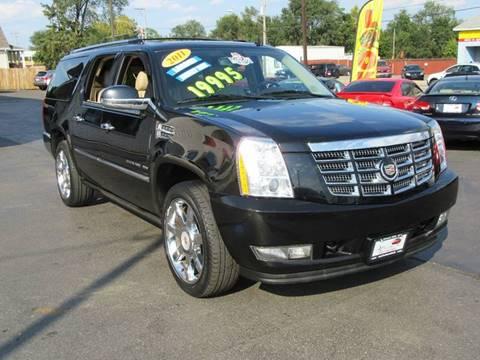 2011 Cadillac Escalade ESV for sale in Crest Hill, IL