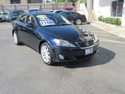 2008 Lexus IS 250 for sale in Crest Hill, IL