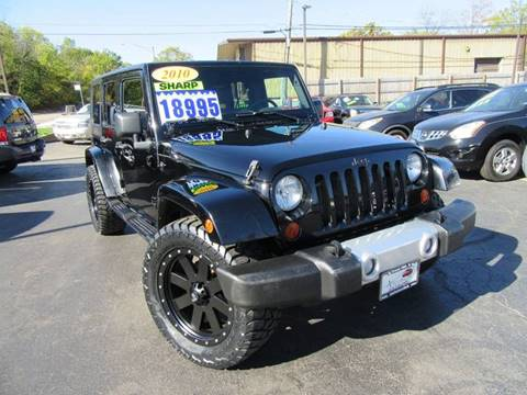 2010 Jeep Wrangler Unlimited for sale in Crest Hill, IL