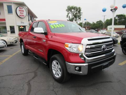 2017 Toyota Tundra for sale at Auto Land Inc in Crest Hill IL