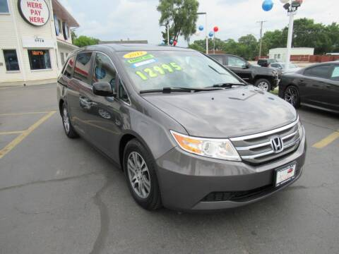 2012 Honda Odyssey for sale at Auto Land Inc in Crest Hill IL