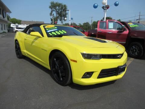2015 Chevrolet Camaro for sale at Auto Land Inc in Crest Hill IL