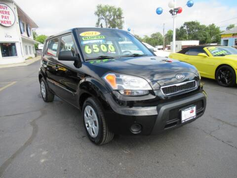 2011 Kia Soul for sale at Auto Land Inc in Crest Hill IL