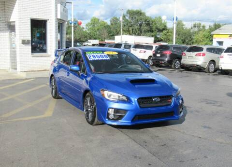 2015 Subaru WRX for sale at Auto Land Inc in Crest Hill IL