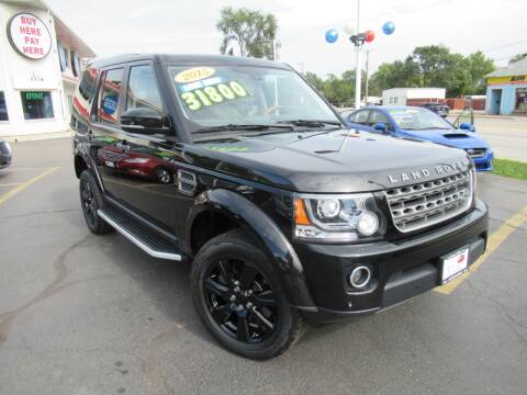2015 Land Rover LR4 for sale at Auto Land Inc in Crest Hill IL