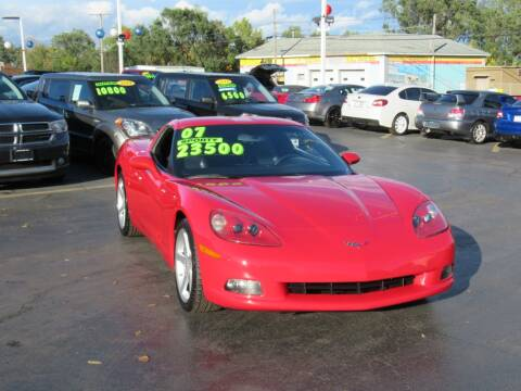 2007 Chevrolet Corvette for sale at Auto Land Inc in Crest Hill IL