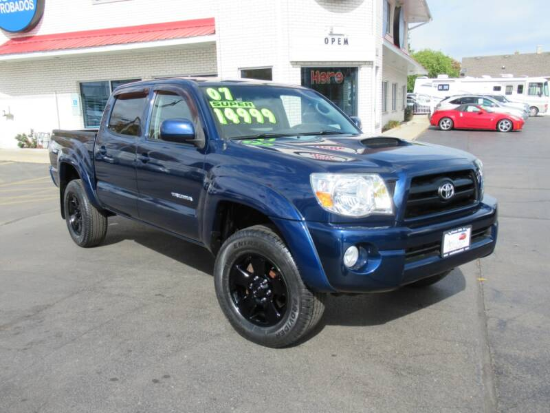 2007 Toyota Tacoma for sale at Auto Land Inc in Crest Hill IL